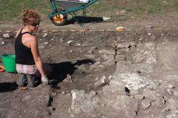 Archaeological excavations in progress. Fot. Chowaniec R.