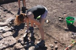Sunny day, excavation in progress. Fot. Chowaniec R.